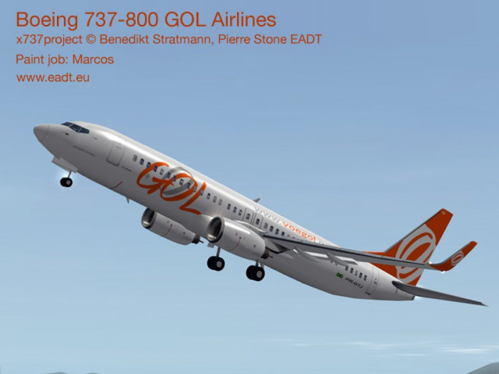 New x737 livery and plugin | x737 Project