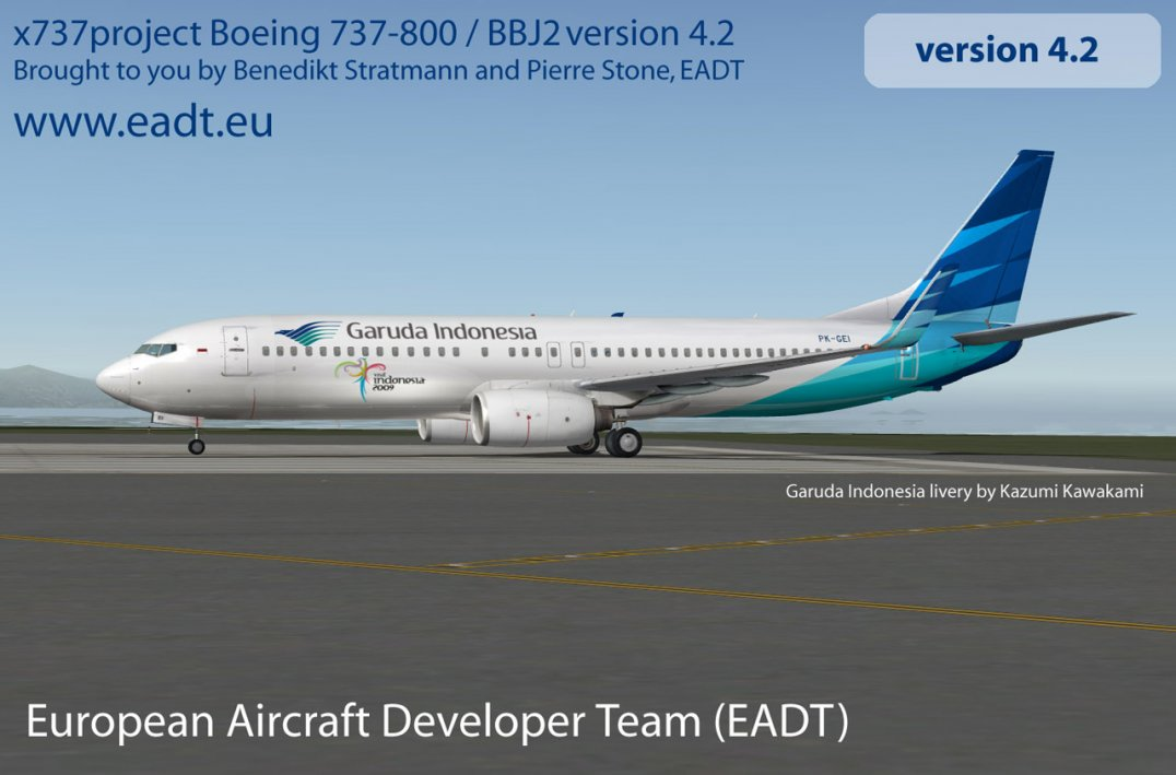 NEW ** x737 aircraft v 4 2 2 released | News * RSS enabled